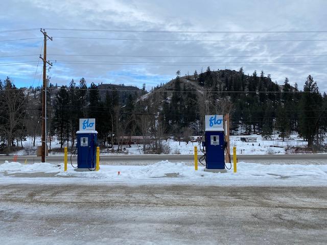 Rock Creek Riverside Center electric chargin stations