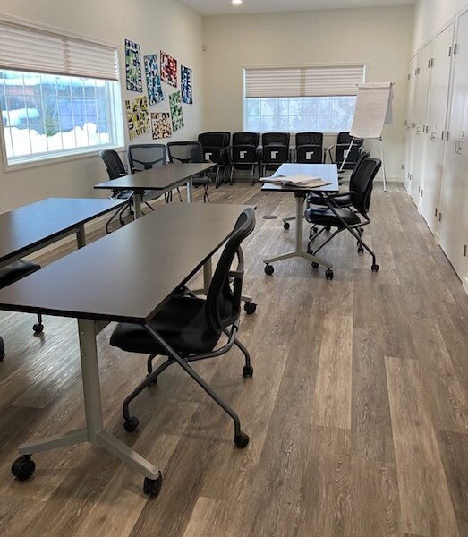 Rock Creek Riverside Center interior boardroom