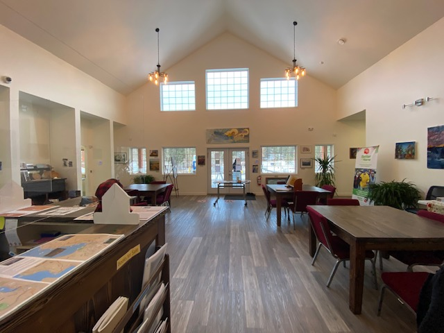 Rock Creek Riverside Center interior