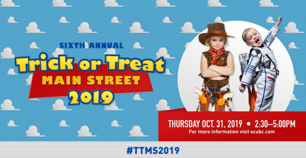 Read more on Trick or Treat Main Street 2019